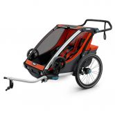 Thule - Chariot Cross 2 Seats 2020 red