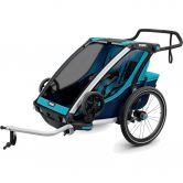 Thule - Chariot Cross 2 Seats 2020 blue