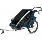 Thule - Chariot Cross 1 Sitzer 2021 majolica blue