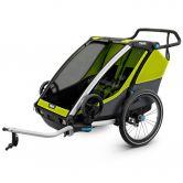 Thule - Chariot Cab 2 Sitzer 2018 grün