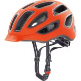 Uvex - City E Radhelm orange mat 16