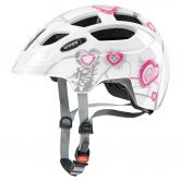 Uvex - Finale Junior heart white pink