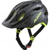 Alpina - Carapax JR. black neon yellow