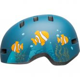 Bell - Lil Ripper Kids matte gray blue fish