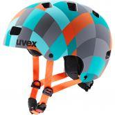 Uvex - Kid 3 cc Kinder green checkered