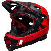 Bell - Super DH Mips matt gloss red black fasthouse