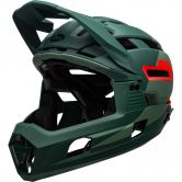 Bell - Super Air R Mips matte gloss green infrared
