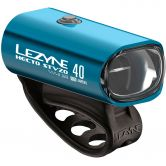 Lezyne - Hecto Drive 40 StVZO Front Light blue shiny