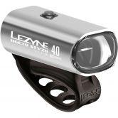 Lezyne - Hecto Drive 40 StVZO Vorderlicht silber glänzend