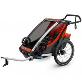 Thule - Chariot Cross 1 Sitzer rot