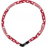 Abus - Steel-O-Chain 4804C 75cm Symbols red