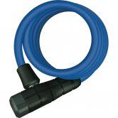 Abus - Spiralkabelschloss Primo 5510/180cm blau