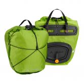 VAUDE - Aqua Front Light Panniers chute green