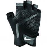 Nike - Extreme Fitnesshandschuhe Herren schwarz anthrazit weiß