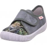 Superfit - Bill Tiger Slipper Boys grey
