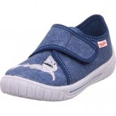 Superfit - Bill Shark Slipper Boys blue