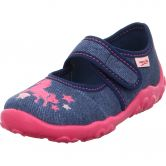 Superfit - Bonny Horse Slipper Girls blue