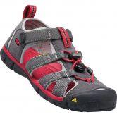 Keen - Seacamp II CNX Trekking Sandals Kids magnet racing red