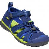 Keen - Seacamp II CNX Trekking Sandals Kids blue depths