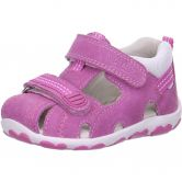 Superfit - Babyschuh Velours Girls kitty