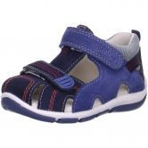 Superfit - Babyschuh Velours Boys ocean