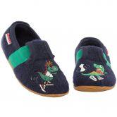 Giesswein - Semirach Felt Shoe Kids marine