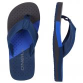 O'Neill - Imprint Punch Flip Flops Kids ink blue