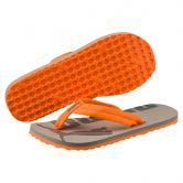 Puma - Epic Flip v2 Jr. Flip Flops Kids rock ridge vibrant orange