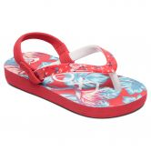 Roxy - Pebbles VI Baby Flip Flops Kids red
