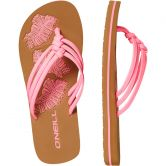 O'Neill - Ditsy Flip-Flops Girls shocking pink