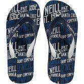 O'Neill - Profile Pattern Flip Flop Jungen blue aop
