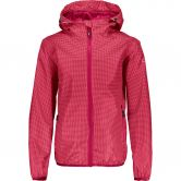 CMP - Rain Jacket Fix Hood Girls ibisco