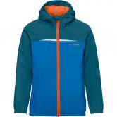 VAUDE - Turaco Jacket Rain Jacket Kids baltic sea