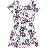 Roxy - The Clouds Dress Girls snow white badami