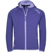 Trollkids - Sogndal Fleece Jacket Girls dark purple lavender