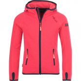 Trollkids - Sandefjord Fleece Jacket Girls coral