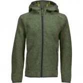 CMP - Strickfleece Jacket Boys avocado