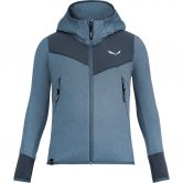 SALEWA - Agner Melange Fleece Jacket Kids flint stone melange