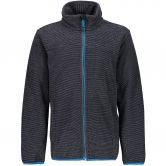 CMP - Chenille Knitted Fleece Jacket Kids antracite