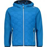 CMP - Fix Hood Softshell Jacket Kids river