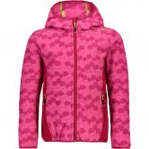 CMP - Fix Hood Fleece Jacket Kids geraneo karkade