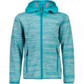 CMP - Fix Hood Fleece Jacket Kids curacao anice