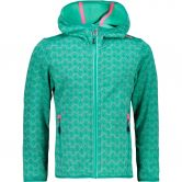 CMP - Fix Hood Fleece Jacket Kids aquamint mint