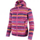 CMP - Strickfleece Hooded Jacket Mädchen hot pink
