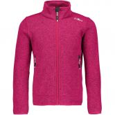CMP - Knitted Fleece Mel Jacket granita