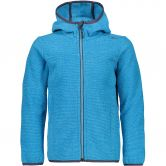 CMP - Chenille Knitted Fleece Jacket jewel