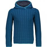 CMP - Hoody Kinder blue jewel