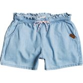 Roxy - Right Here Jeans Shorts Girls light blue