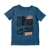 Quiksilver - Like Water T-Shirt Jungen majolica blue heather