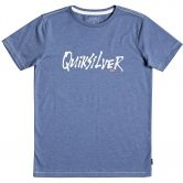 Quiksilver - Scriptural T-Shirt Kinder bijou blue heather